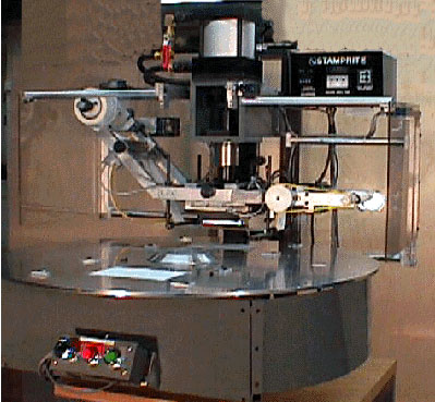 Servo-actuated Swing Table